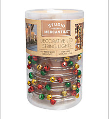 Studio Mercantile LED Micro Jingle Bells 10ft String Lights
