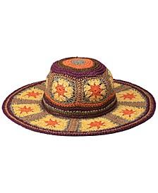 Fergie Wide Brim Sun Hat