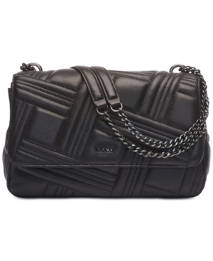 Dkny ALLEN FLAP SHOULDER BAG, CREATED FOR MACY'S