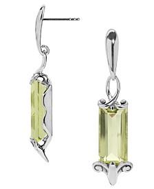 Carolyn Pollack Lemon Quartz (17-5/8 ct. t.w.) Earrings in Sterling Silver
