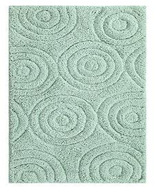 Circles 24x40 Cotton Bath Rug