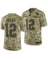 f0a85a2aefa Nike Men's Tom Brady New England Patriots Salute To Service Jersey 2018