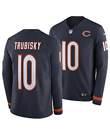 Nike Men's Mitchell Trubisky Chicago Bears Therma Jersey