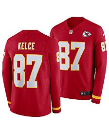 Nike Men's Travis Kelce Kansas City Chiefs Therma Jersey