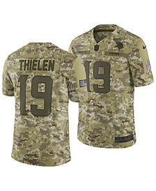 Nike Men's Adam Thielen Minnesota Vikings Salute To Service Jersey 2018