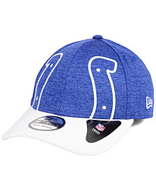 New Era Indianapolis Colts Oversized Laser Cut Logo 39THIRTY Cap