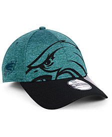 New Era Philadelphia Eagles Oversized Laser Cut Logo 39THIRTY Cap