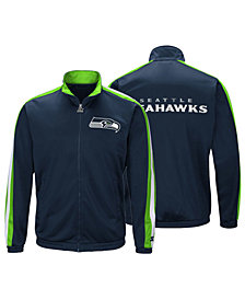 Starter Men's Seattle Seahawks The Challenger Track Jacket