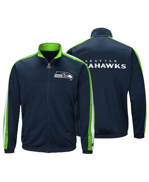 huge discount bf1d0 8c2c4 Men's Seattle Seahawks The Challenger Track Jacket
