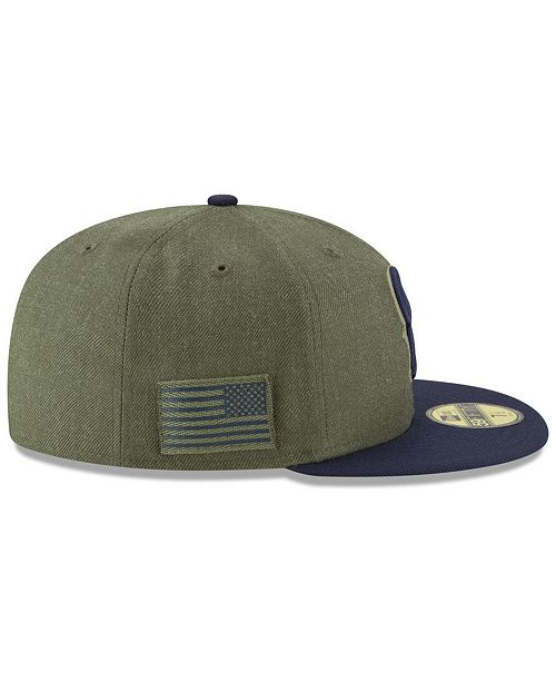 af576e5db ... New Era Houston Texans Salute To Service 59FIFTY FITTED Cap ...