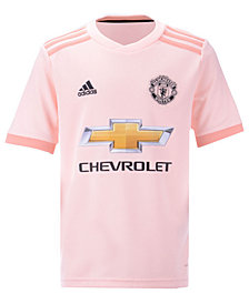 adidas Manchester United Club Team Away Stadium Jersey, Big Boys (8-20)