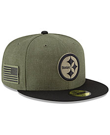 New Era Pittsburgh Steelers Salute To Service 59FIFTY FITTED Cap