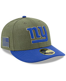 New Era New York Giants Salute To Service Low Profile 59FIFTY Fitted Cap 2018