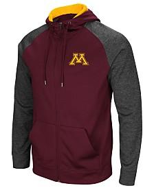 Colosseum Men's Minnesota Golden Gophers Magic Rays Full-Zip Hooded Sweatshirt