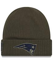 35f75174 New Era New England Patriots Salute To Service Cuff Knit Hat