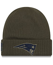 New Era New England Patriots Salute To Service Cuff Knit Hat