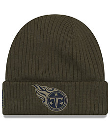 New Era Tennessee Titans Salute To Service Cuff Knit Hat