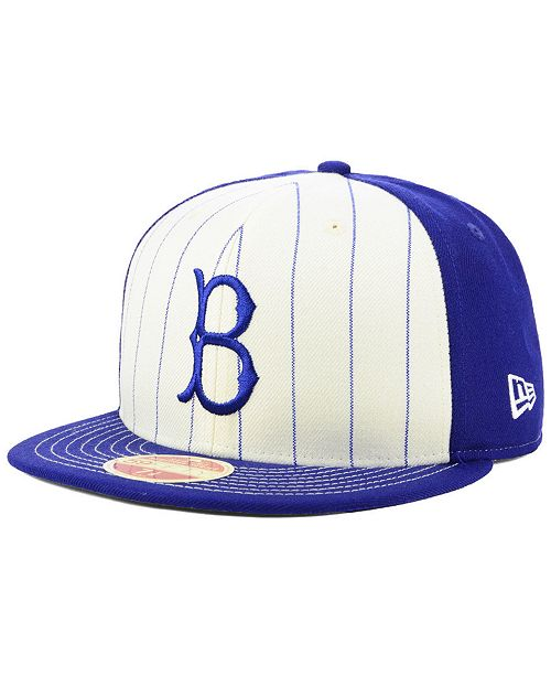 a2fca9af9c4 ... New Era Brooklyn Dodgers Vintage Front 59FIFTY FITTED Cap ...