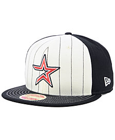 New Era Houston Astros Vintage Front 59FIFTY FITTED Cap