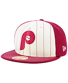 New Era Philadelphia Phillies Vintage Front 59FIFTY FITTED Cap