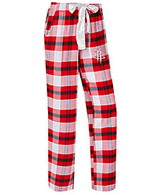 Concepts Sport Women's Houston Rockets Headway Flannel Pajama Pants