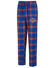 Concepts Sport Men's New York Knicks Homestretch Flannel Sleep Pants