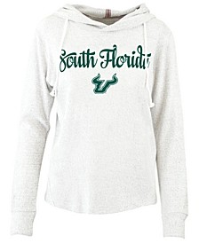 Women's South Florida Bulls Cuddle Knit Hooded Sweatshirt