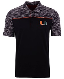 Antigua Men's Miami Hurricanes Final Play Polo