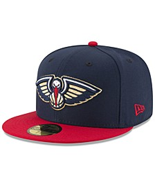 New Orleans Pelicans Basic 2 Tone 59FIFTY Fitted Cap