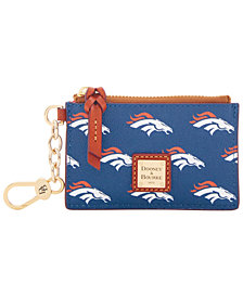 Dooney & Bourke Denver Broncos Zip Top Card Case