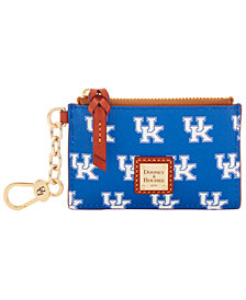 Dooney & Bourke Kentucky Wildcats Zip Top Card Case