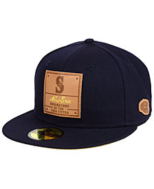 New Era Seattle Mariners Vintage Team Color 59FIFTY FITTED Cap