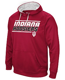 Colosseum Men's Indiana Hoosiers Stack Performance Hoodie