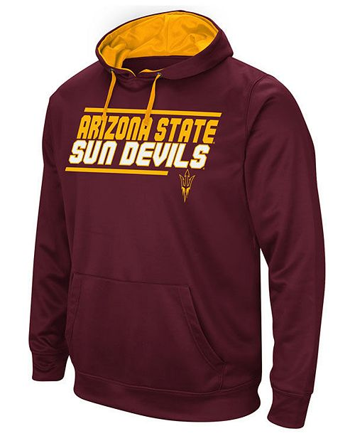 29313ff9c123a Colosseum Men s Arizona State Sun Devils Stack Performance Hoodie ...