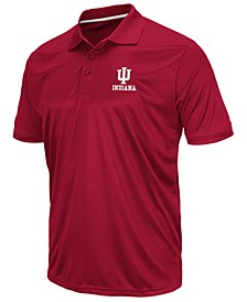 Men's Indiana Hoosiers Short Sleeve Polo