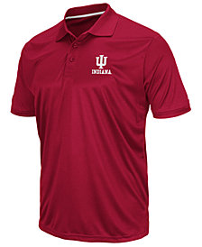Colosseum Men's Indiana Hoosiers Short Sleeve Polo