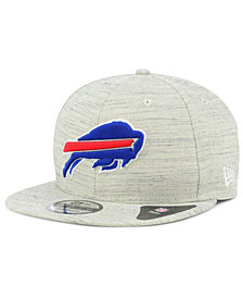 New Era Buffalo Bills Luxe Gray 9FIFTY Snapback Cap