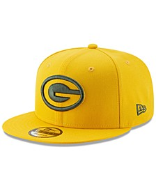 Green Bay Packers Logo Elements Collection 9FIFTY Snapback Cap