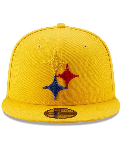 d1873e88dca024 ... New Era Pittsburgh Steelers Logo Elements Collection 9FIFTY Snapback Cap  ...