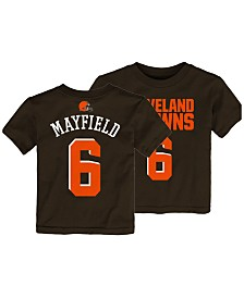 Outerstuff Baker Mayfield Cleveland Browns Mainliner Player T-Shirt 9384a0684