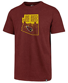 '47 Brand Men's Arizona Cardinals Regional Slogan Club T-Shirt