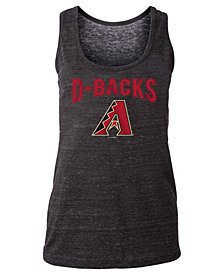 5th & Ocean Women's Arizona Diamondbacks Triblend Crew Tank