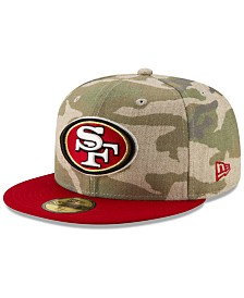 New Era San Francisco 49ers Vintage Camo 59FIFTY FITTED Cap