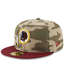 New Era Washington Redskins Vintage Camo 59FIFTY FITTED Cap