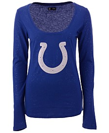 5th & Ocean Women's Indianapolis Colts Logo Long Sleeve T-Shirt