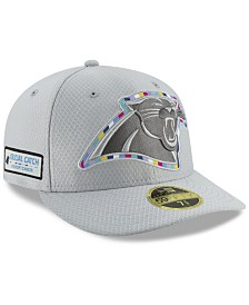 New Era Carolina Panthers Crucial Catch Low Profile 59FIFTY Fitted Cap