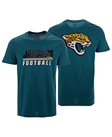Men's Jacksonville Jaguars Fade Back Super Rival T-Shirt