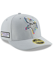 New Era Minnesota Vikings Crucial Catch Low Profile 59FIFTY Fitted Cap