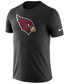 Nike Men's Arizona Cardinals Dri-Fit Cotton Essential Logo T-Shirt