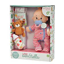 Manhattan Toy Wee Baby Stella Sleepy Time Scents 12 Inch Soft Baby Doll Set